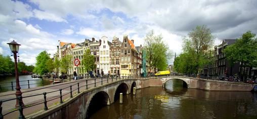 Ein Rundumblick von Amsterdam