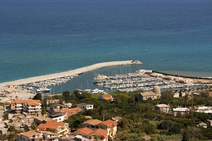 Strand in Kalabrien