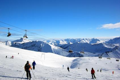 Skifahren Kitbühel