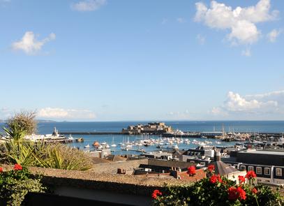 St Peter Port auf Guernsey