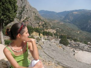 Griechland - Blick aufs Festland