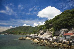 Koh Samuis Küste