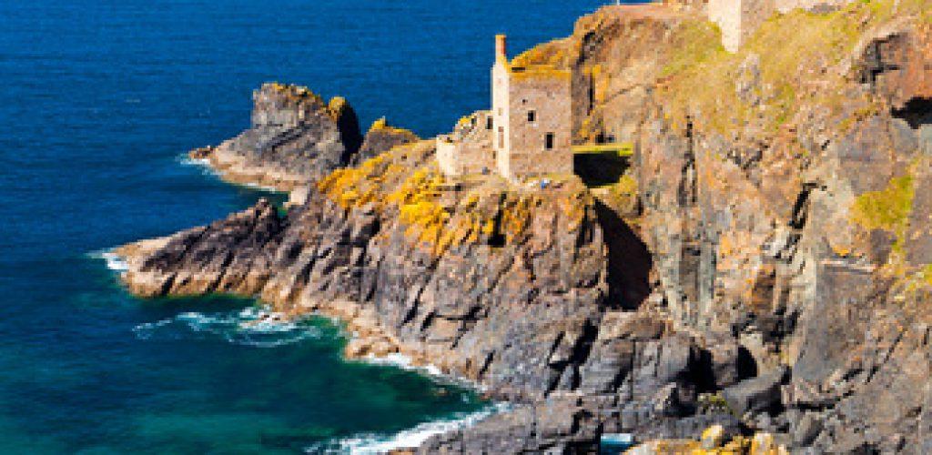 Wandern an der Cornwall Küste
