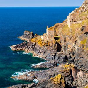 Cornwall Küste im Süden Englands