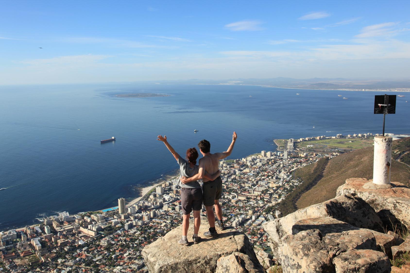 Inhalt des Artikels ist das Sonnenparadies Kapstadt.