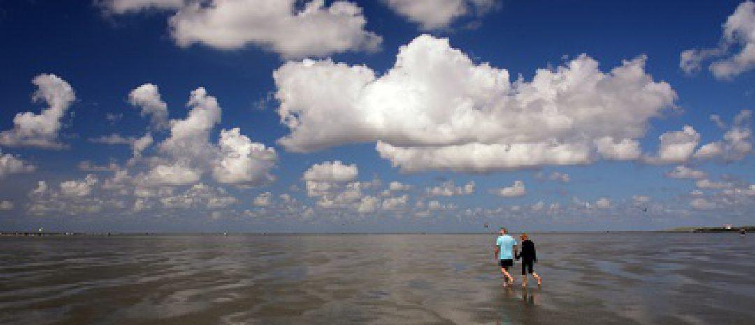 Ferienanlagen an der Nordseeküste: die Halbinsel Butjadingen